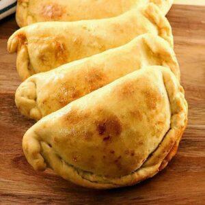 Empanada Dough Close Up