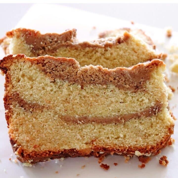 Dulce de Leche Coffee Cake